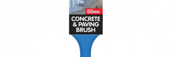 Concrete and paving brush